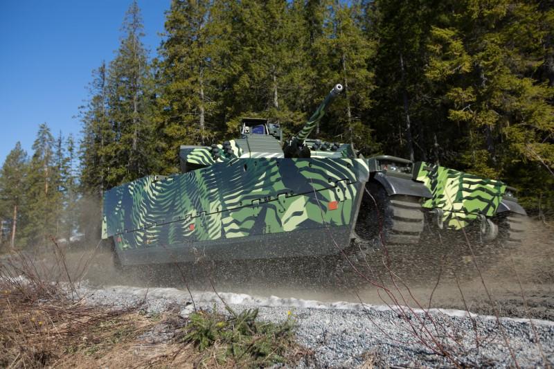Der CV90 hat den Ruf, ein sehr effektives Waffensystem zu sein.