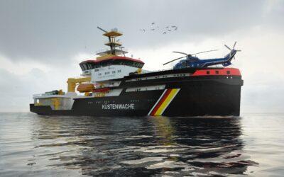 Voith rüstet drei neue deutsche Mehrzweckschiffe aus