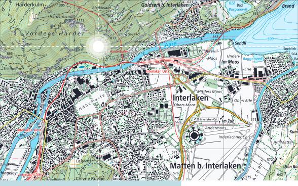 Schweiz: Landeskartenwerk ist fertig