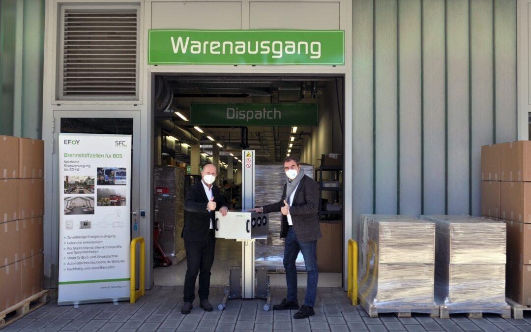 MdB Florian Hahn besucht SFC