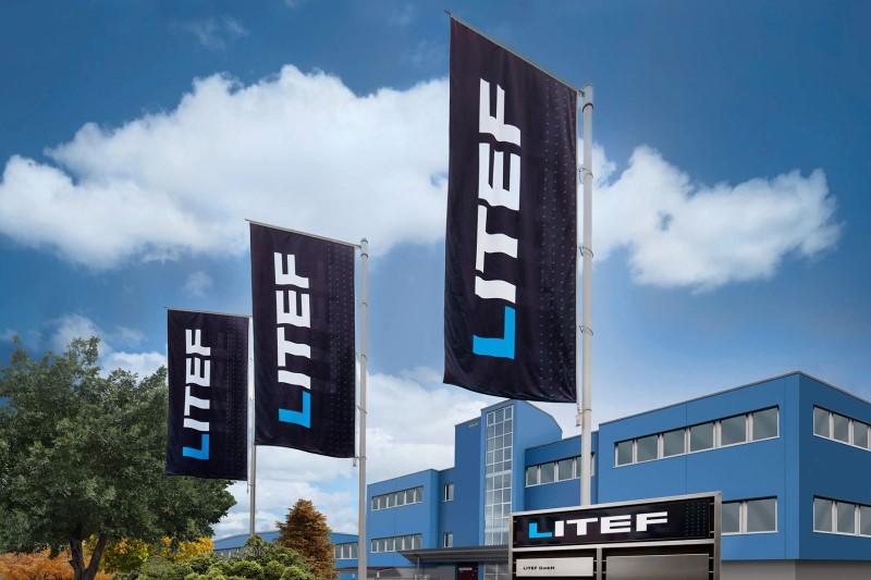 LITEF feiert 60. Geburtstag und tritt neu auf