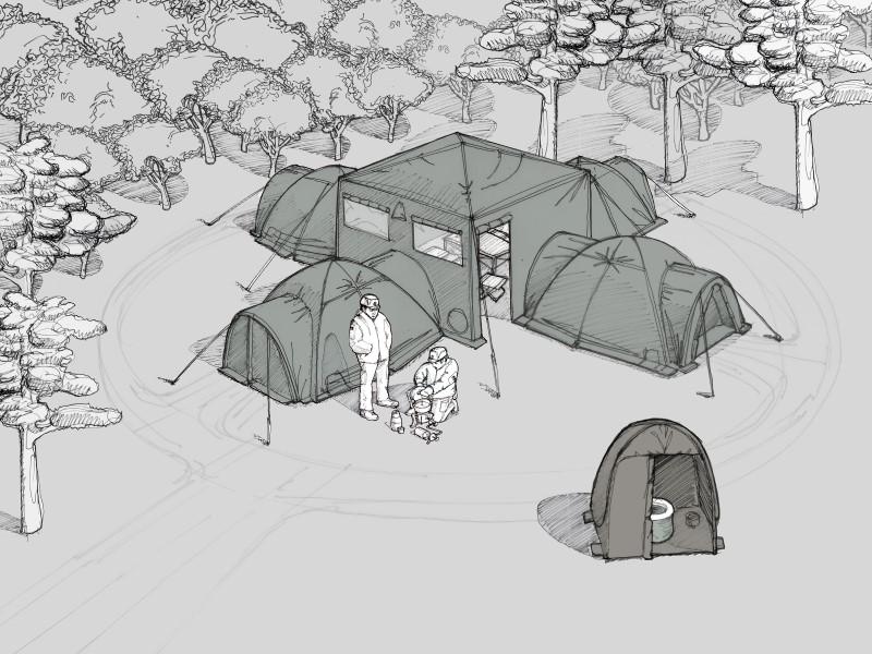 Neue Zelte für die Bundeswehr