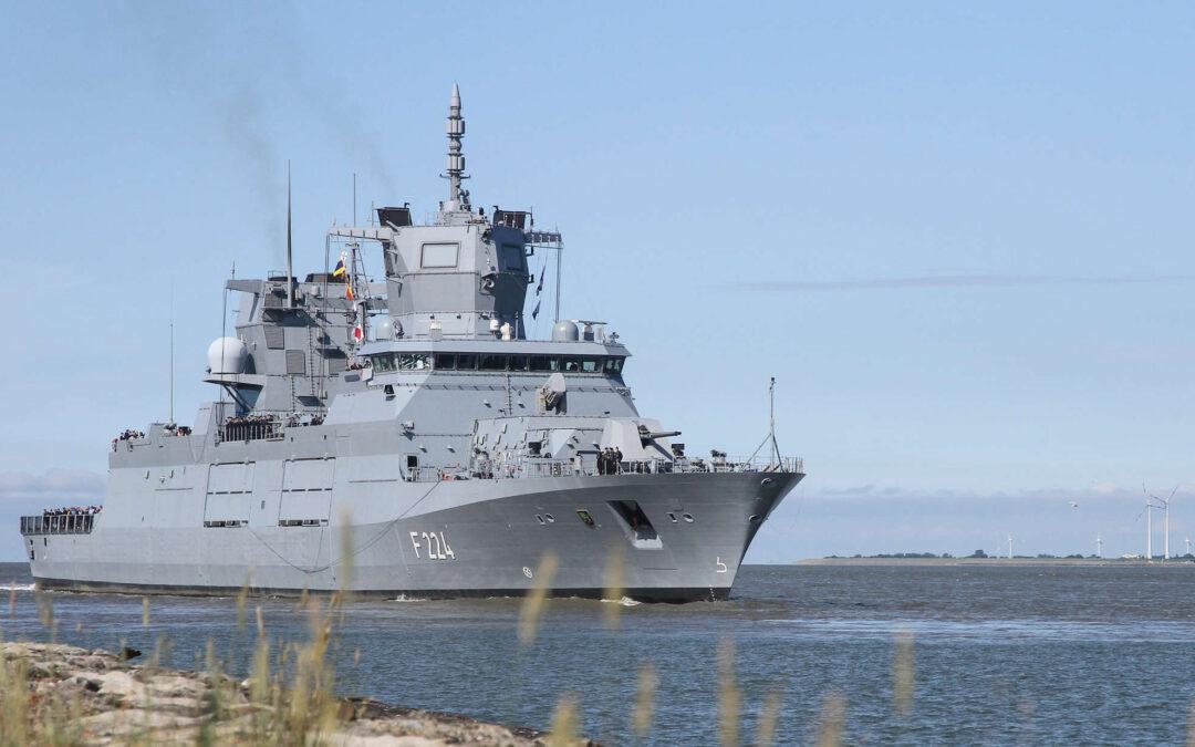 """thyssenkrupp Marine Systems übergibt Fregatte """"SACHSEN-ANHALT"""""""