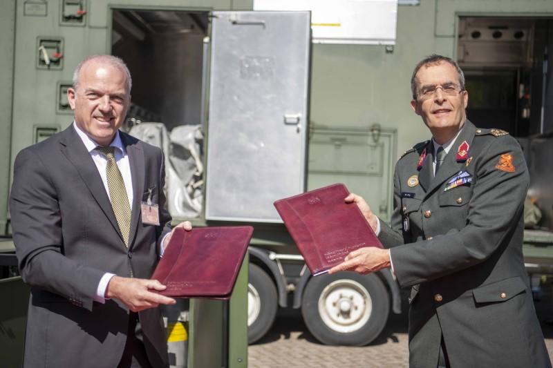 Niederländische Armee bestellt Wasseraufbereitungs- und Abfüllsysteme bei Kärcher Futuretech