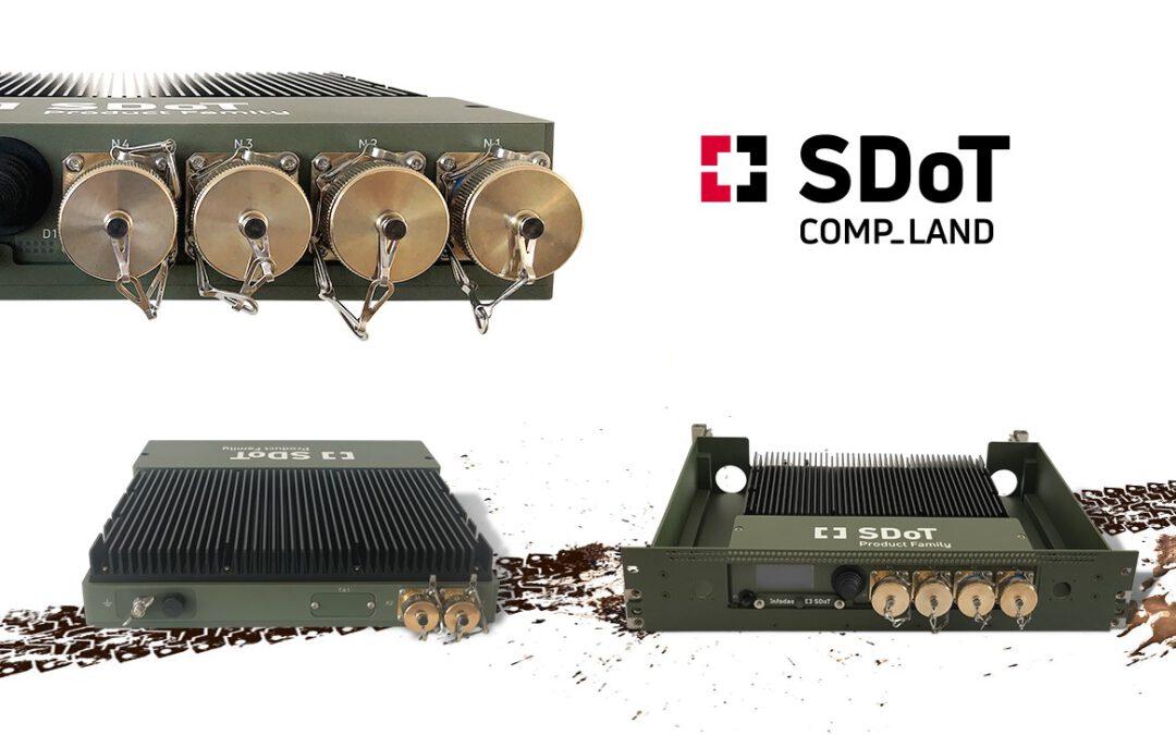 INFODAS bringt SDoT Diode und Gateway Express für extreme Einsätze in Fahrzeugen auf den Markt
