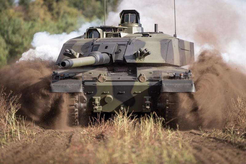 Rheinmetall modernisiert britische Challenger 2