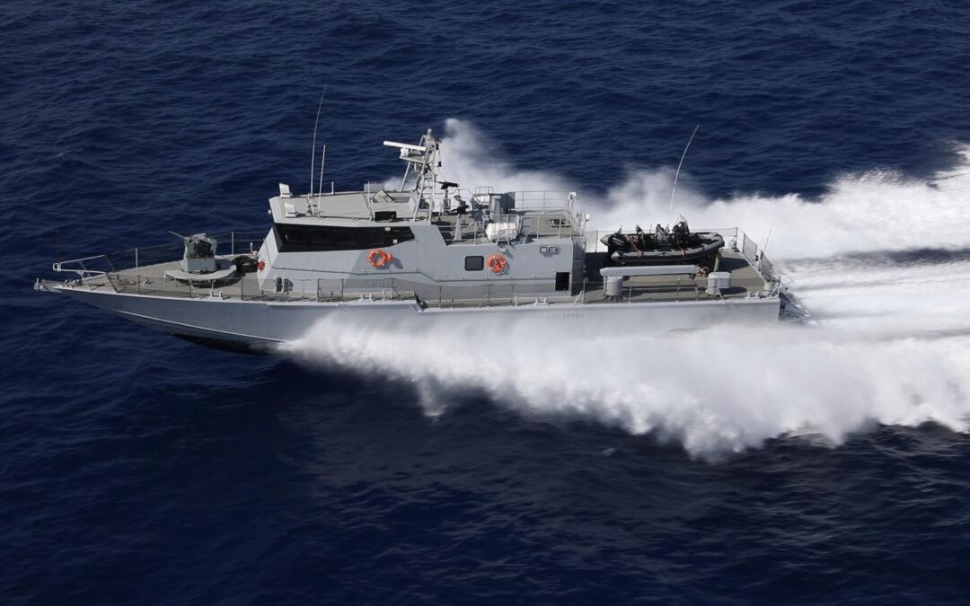 Israel Shipyards liefert SHALDAG MK V Boot an asiatischen Kunden