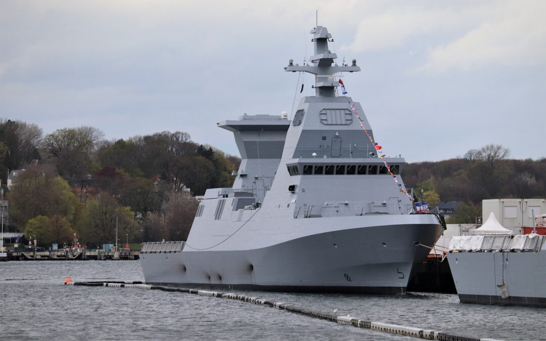 """Die israelische Marine erhält in Kiel """"INS Oz"""" als zweites Schiff"""