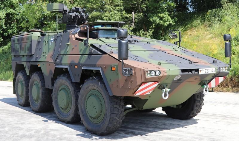 Lieferung der bisher durch die Bundeswehr beauftragten GTK Boxer abgeschlossen