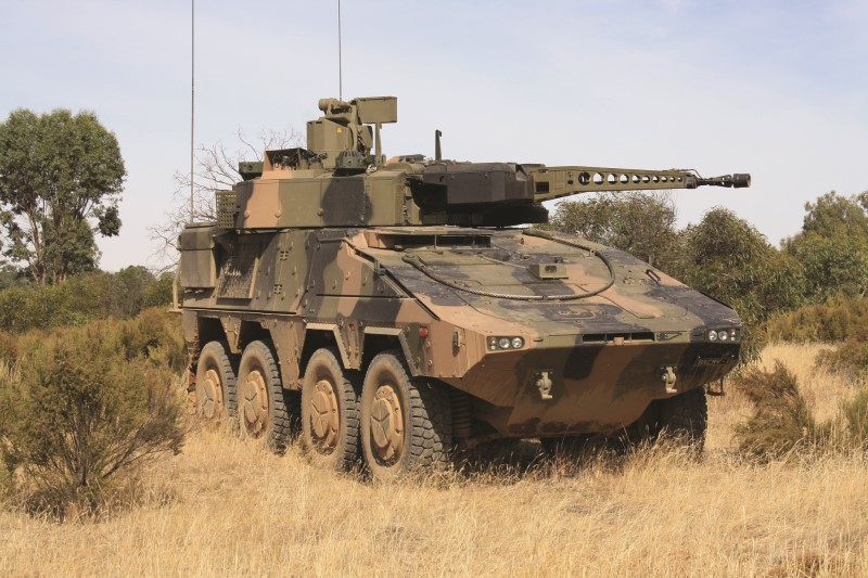 Australisches Heer erhält die ersten 25 Boxer CRV-Radspähpanzer