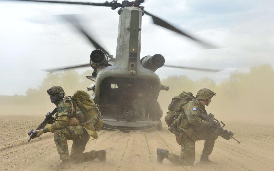Vier Nationen, ein Ziel: Landes- und Bündnisverteidigung