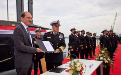 TKMS übergibt das vierte U-Boot an ägyptische Marine