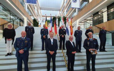 EATC – Mönch Verlag besucht das Europäische Lufttransportkommando in Eindhoven