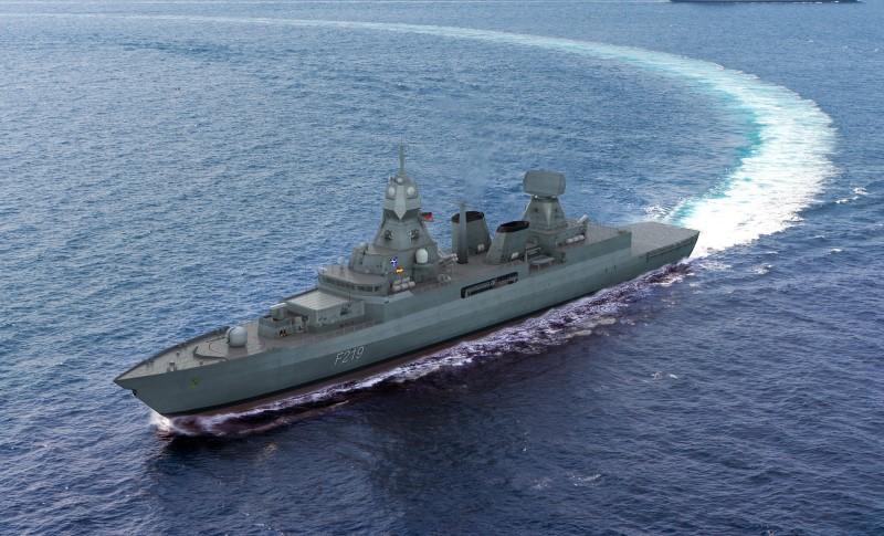 HENSOLDT erhält Auftrag zur Ausrüstung deutscher F124-Fregatten mit neuen Radarsystemen