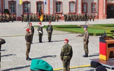 Feierliche Kommandoübergabe des ABC-Abwehrkommandos in Bruchsal