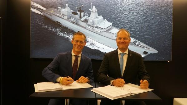 ESG wird Logistik-Partner für die F123-Modernisierung