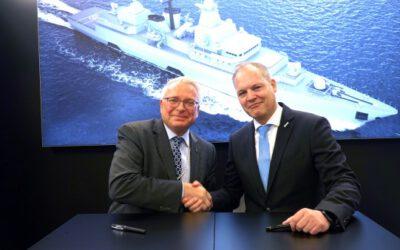 ESG und Saab streben strategische Zusammenarbeit bei Marine-Vorhaben an.