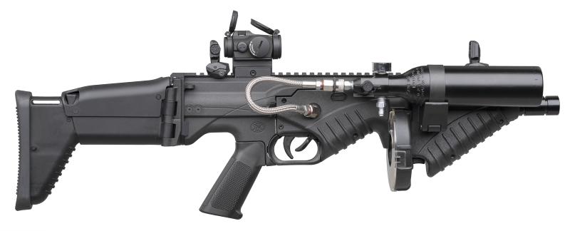 FN Herstal stellt kompakten und modularen FN 303 Tactical Less Lethal Launcher vor
