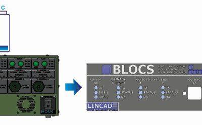 DSEI: Lincad präsentiert BLOCS Etikettendrucker für den einfachen und sicheren Transport von Militärbatterien