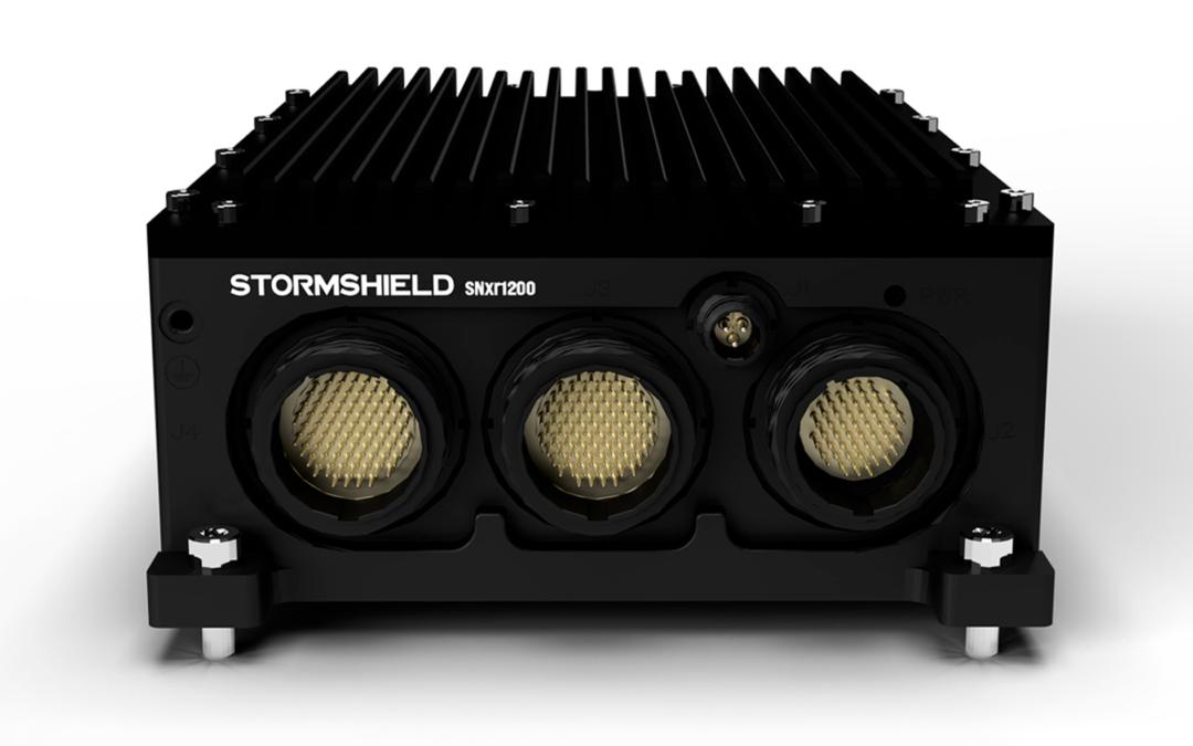 Stormshield mit neuer Ultrarugged-Firewall SNxr1200 für kritische Umgebungen