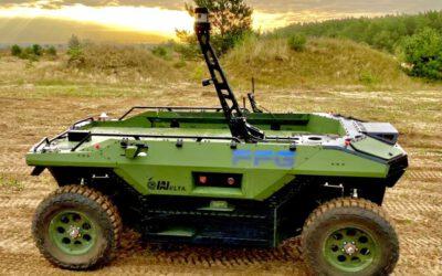 Felderprobung Unmanned Ground Vehicles (UGV) zur Unterstützung abgesessener Kräfte