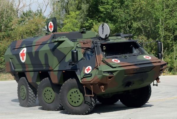 Leistungssteigerung: Rheinmetall stellt neue Version des Transportpanzers Fuchs mit Hochdach vor